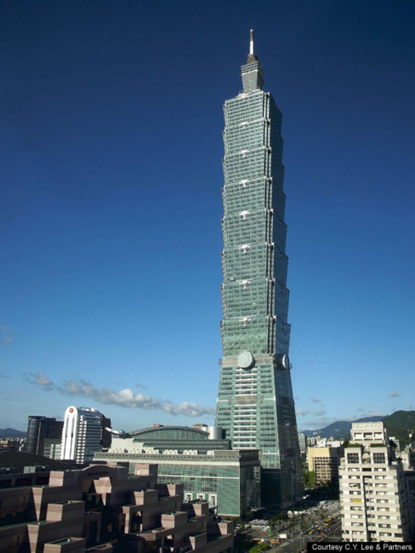 Taipei 101 Floor Plan Taipei 101 Architizer