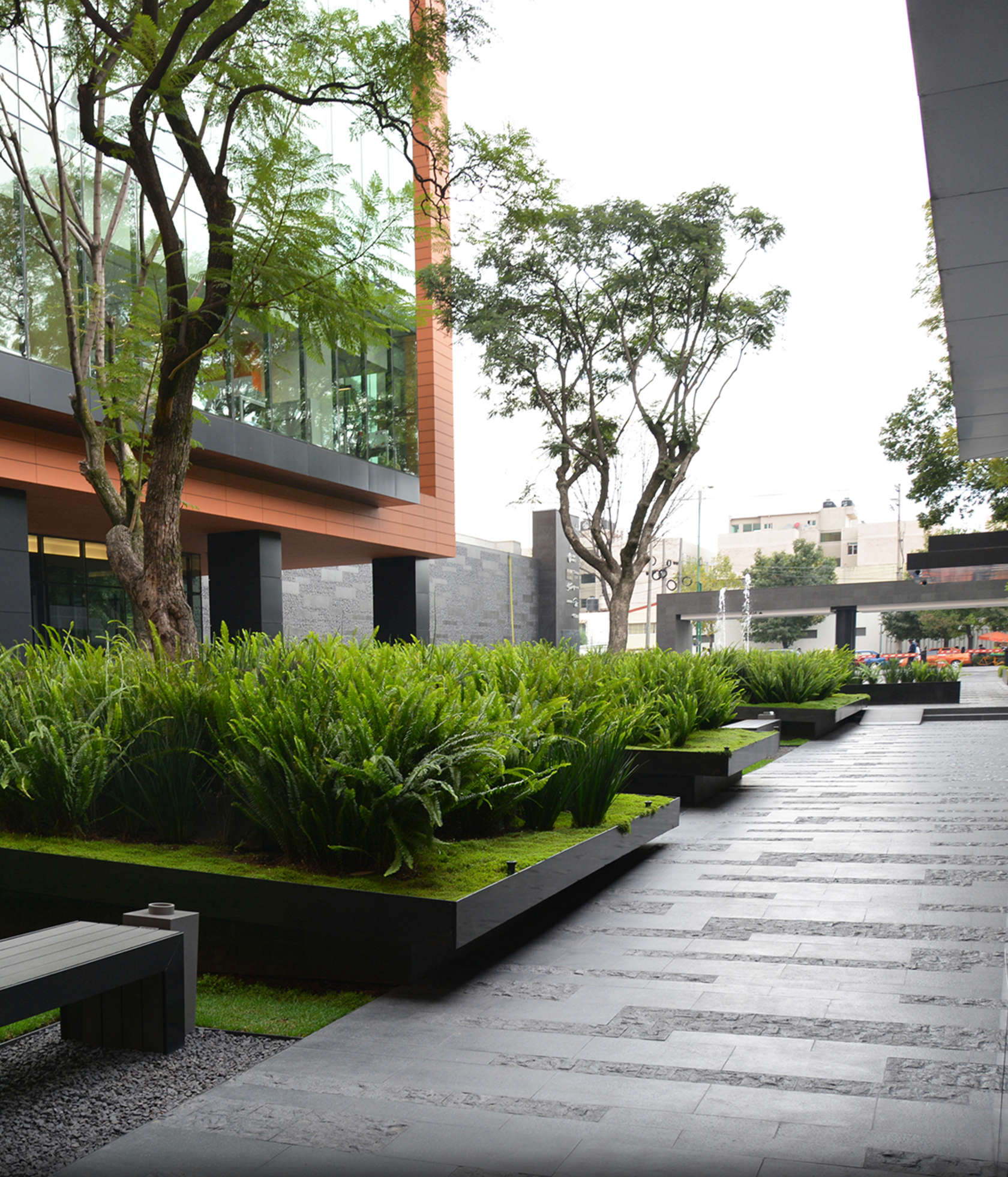 Coyoac n corporate campus architizer for Garden design university