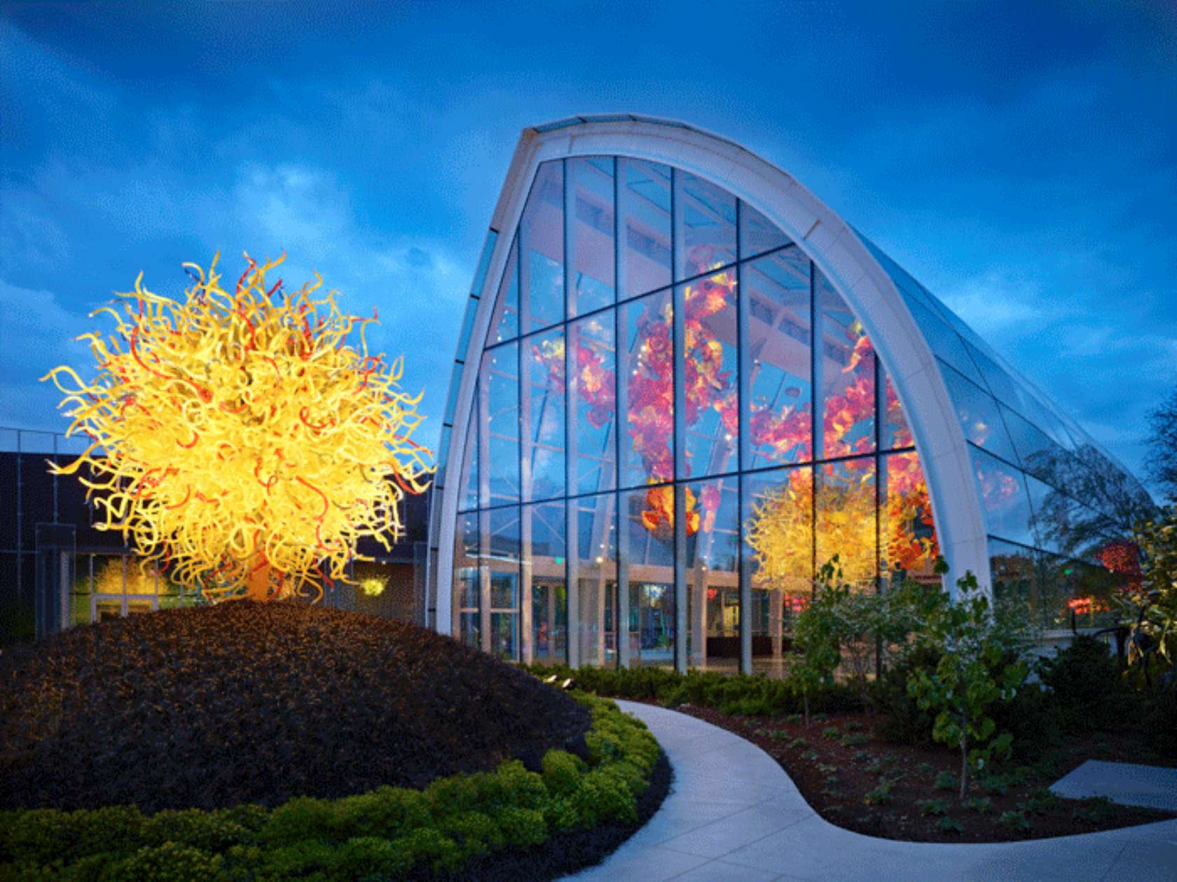 Chihuly Garden And Glass Architizer
