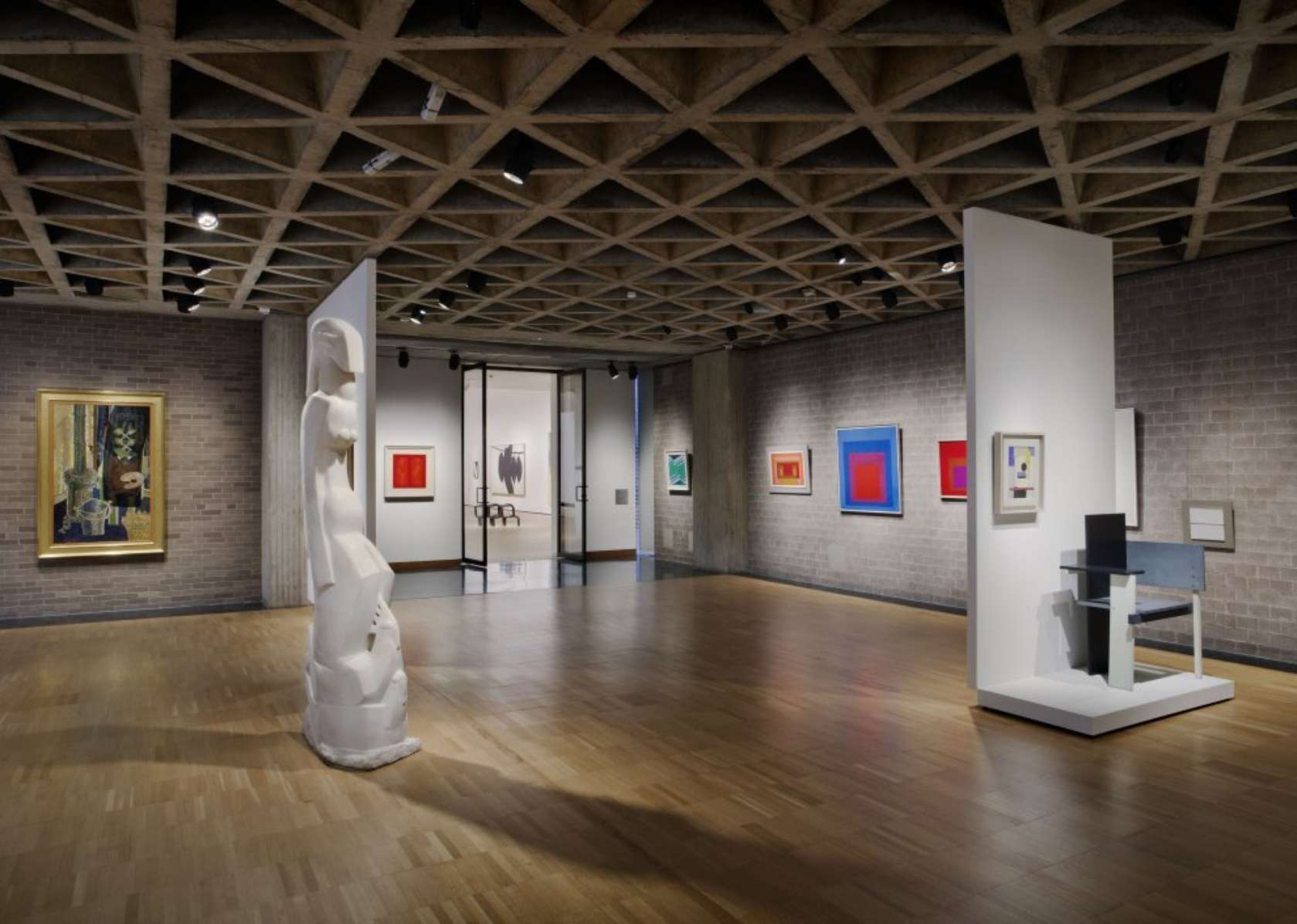 After 18 years overhaul of yale art gallery finally complete architizer - Art gallery interior design ideas ...