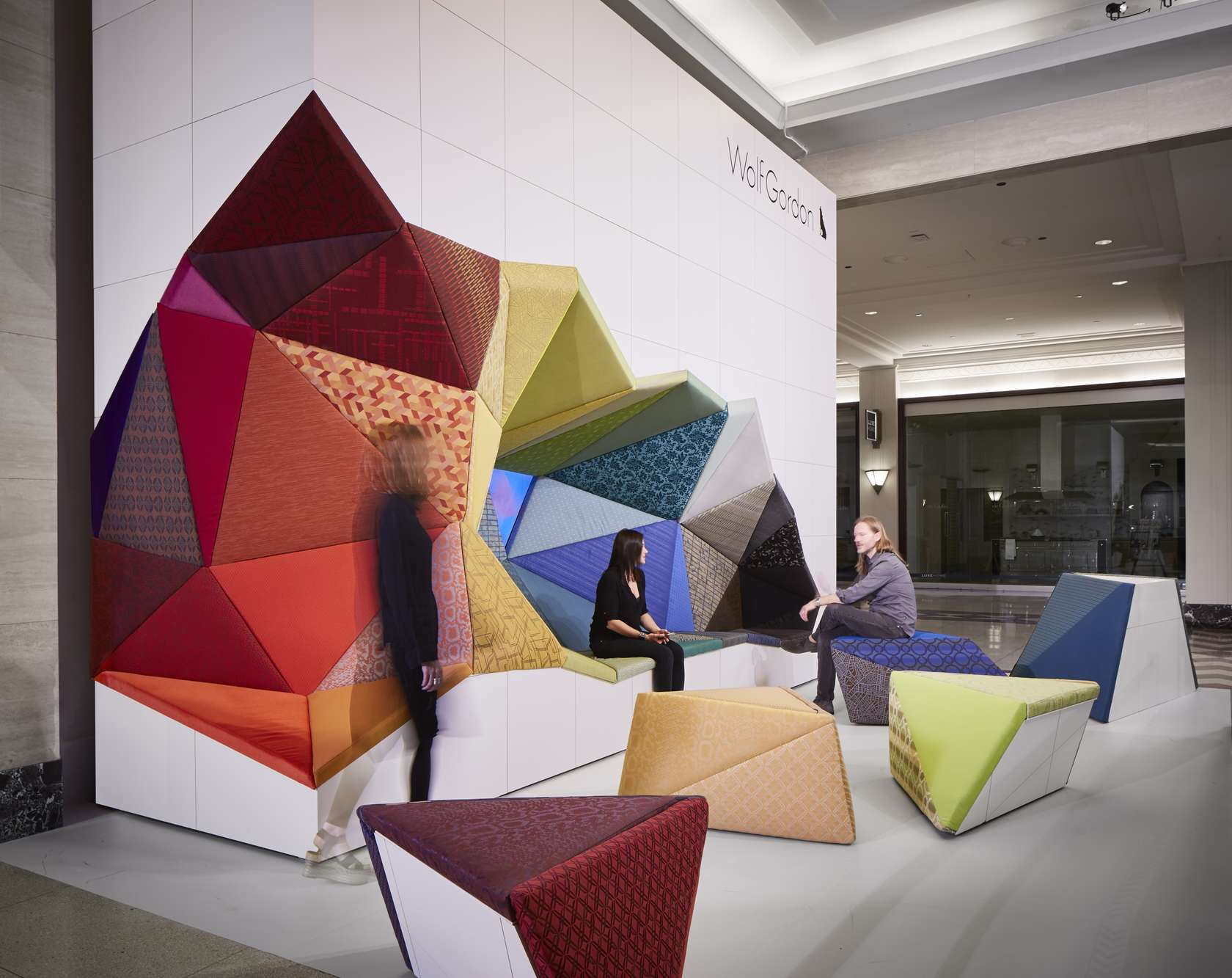 Creative Interior Furniture Design ~ The best new contract textiles and accessories of neocon