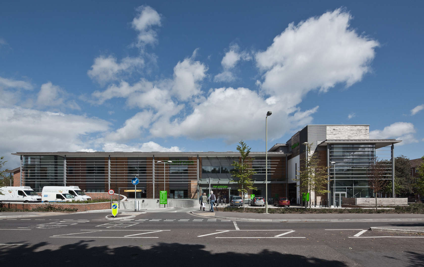 Waitrose winchester architizer for Winchester architects