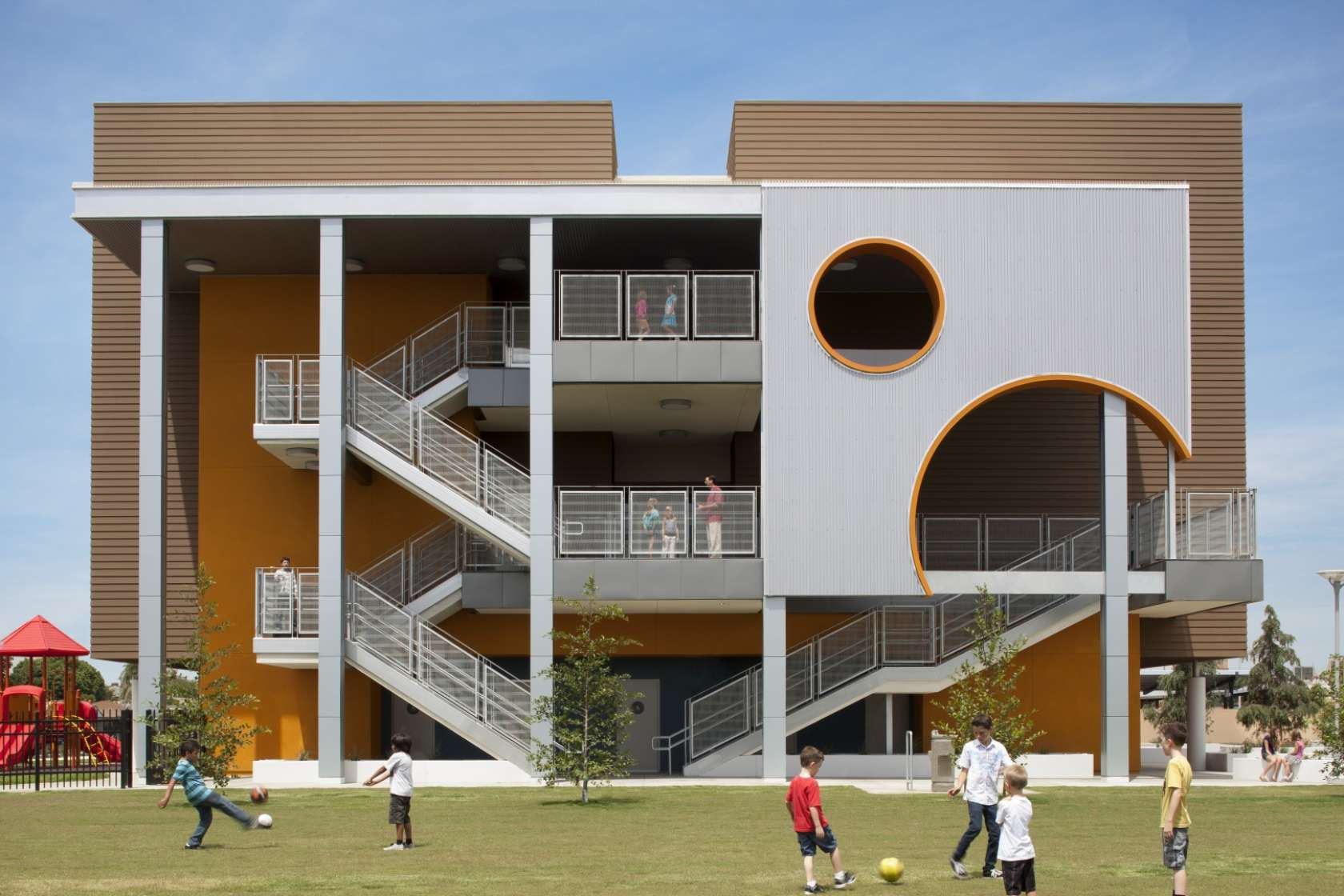 South region elementary school 9 architizer for Exterior design courses