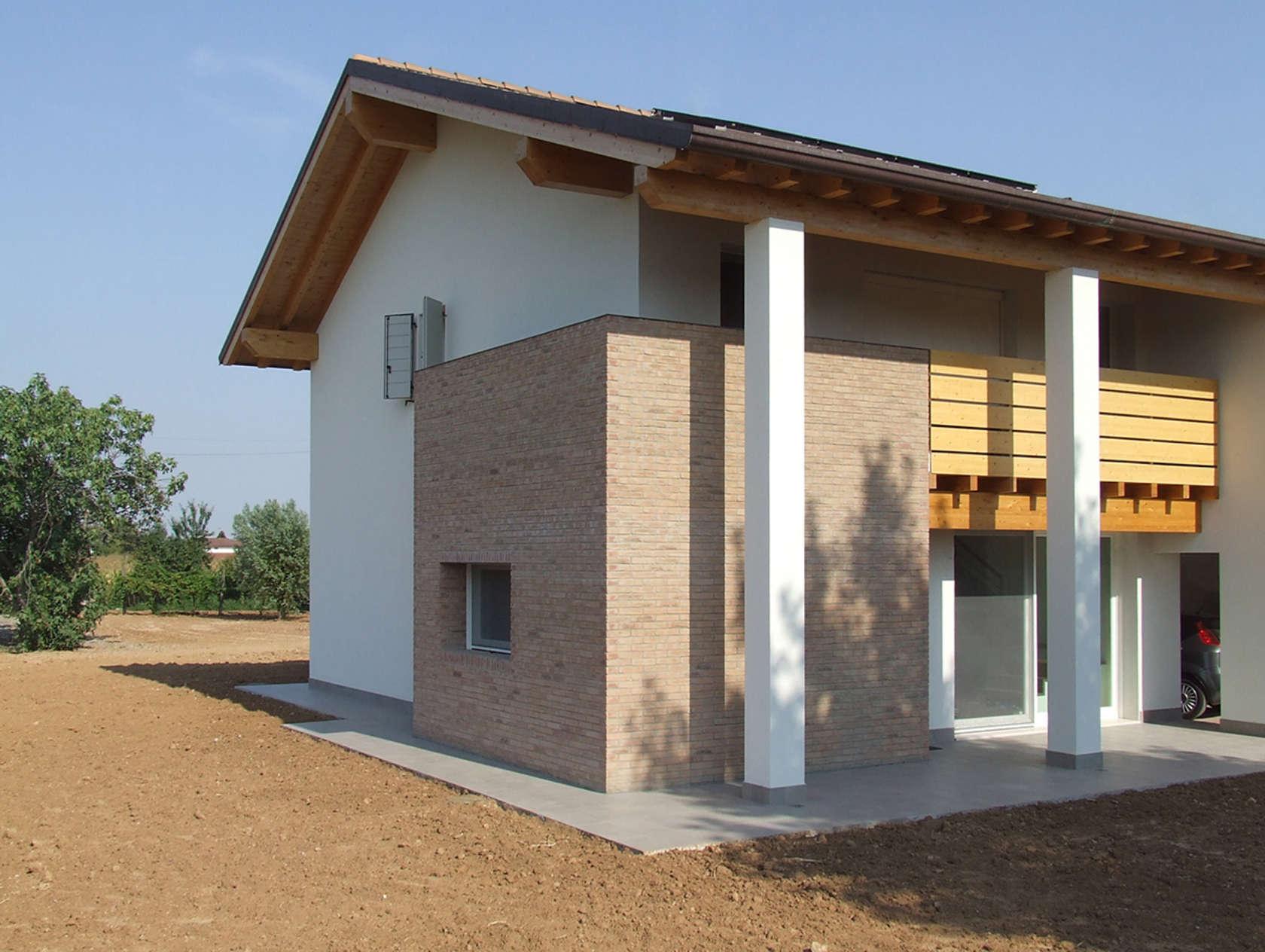 Colore esterno casa colore casa esterno grigio idee di for Colori per esterni villette
