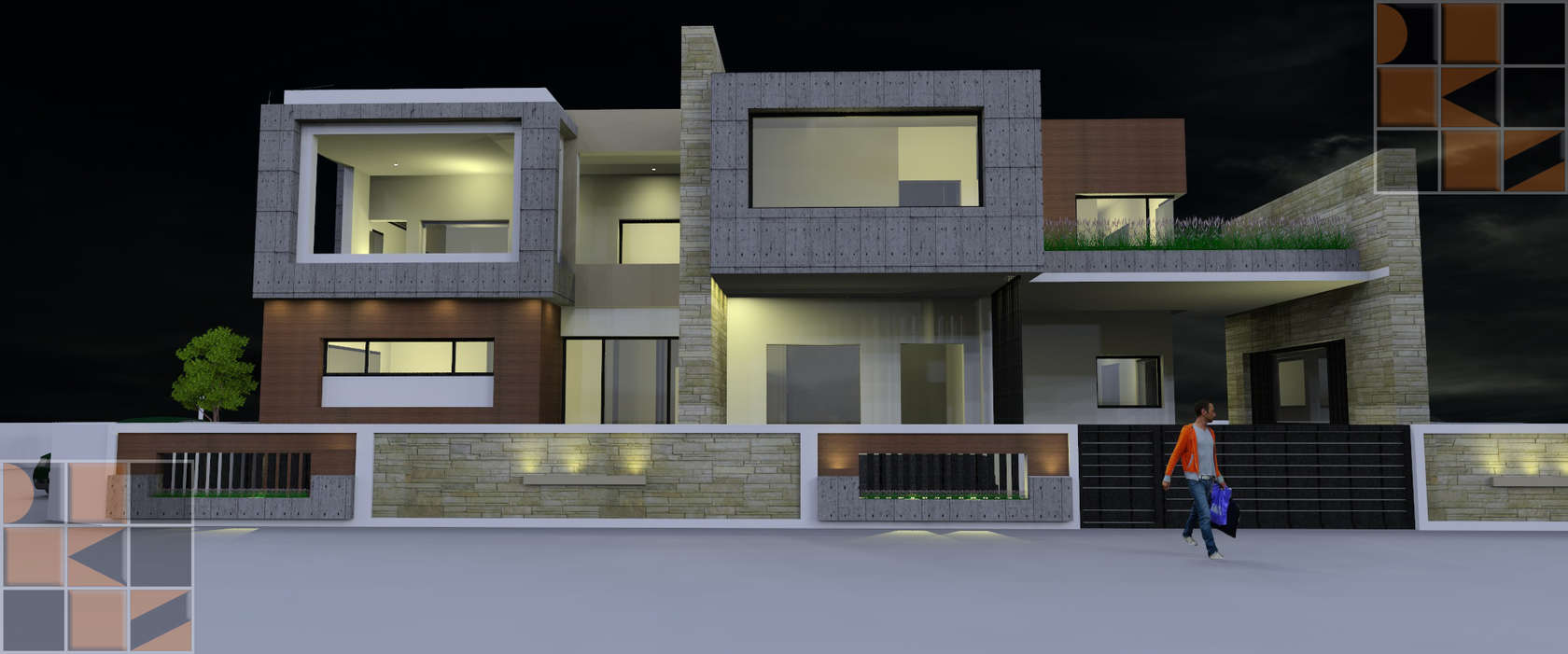 D sign k studio pvt ltd architects in chennai architizer for Architecture design companies in coimbatore