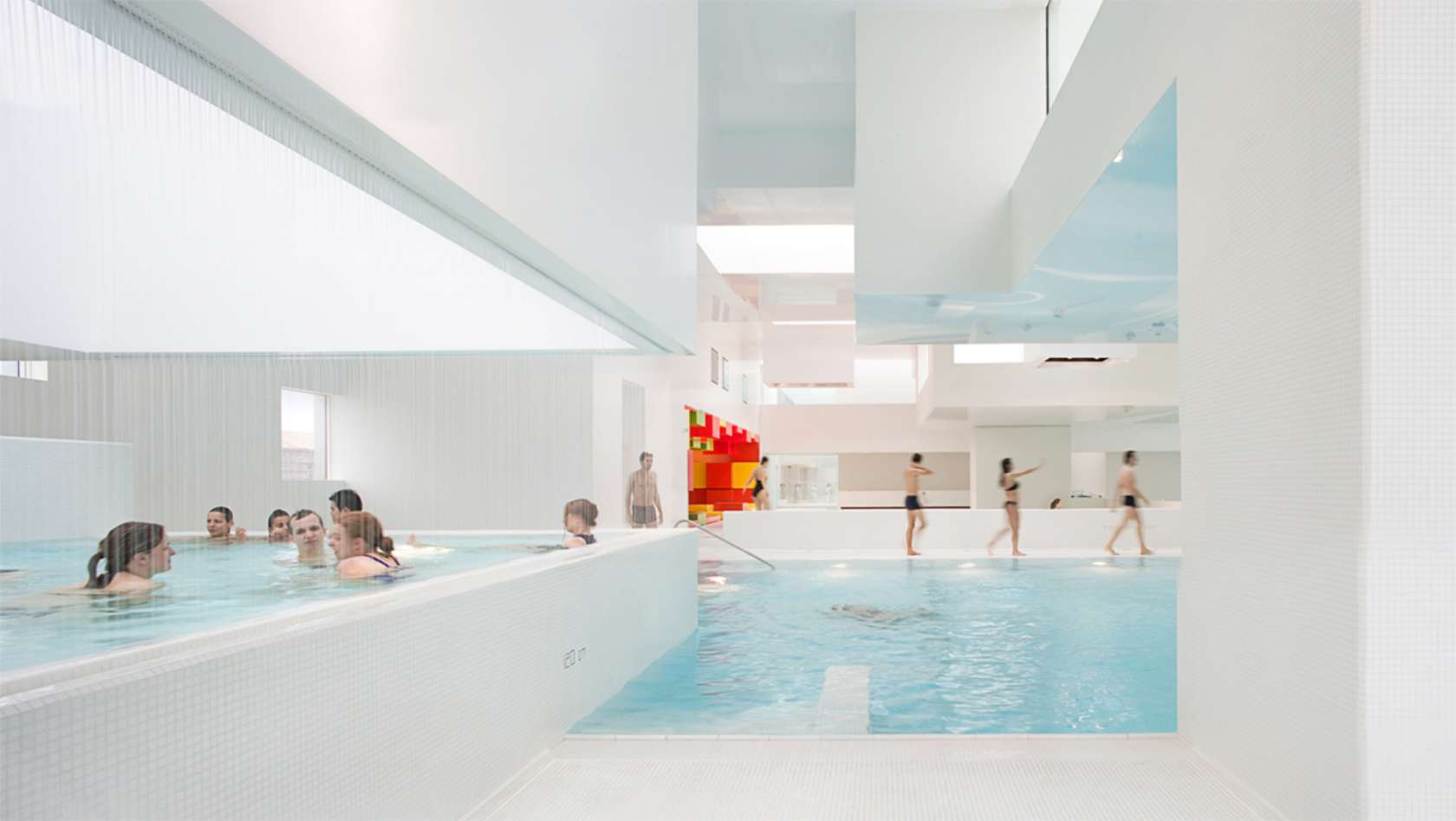 10 brilliant examples of modern white architecture architizer - Bains des docks le havre ...