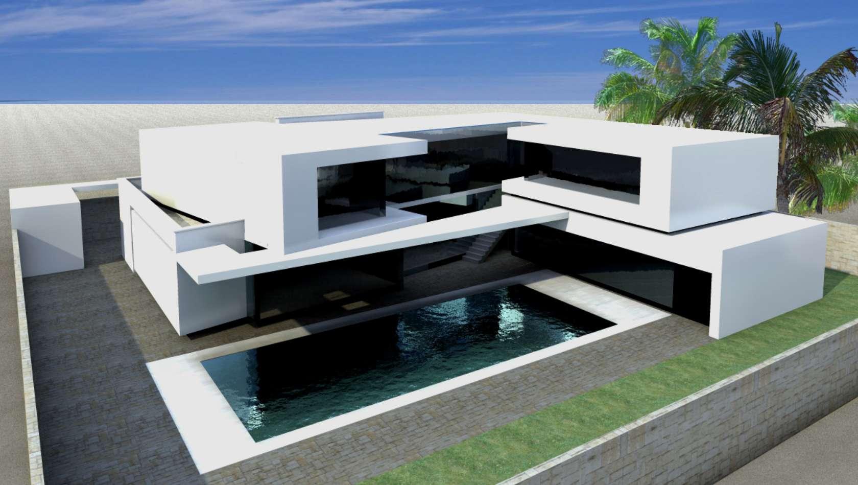 Claudio catalano architecture design architizer for Modern house qatar