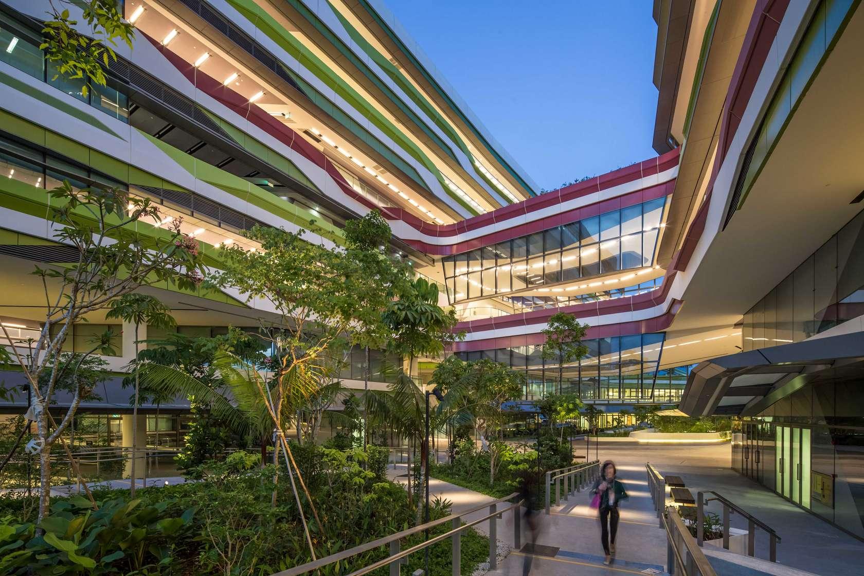 Singapore university of technology and design architizer for Technology architecture design