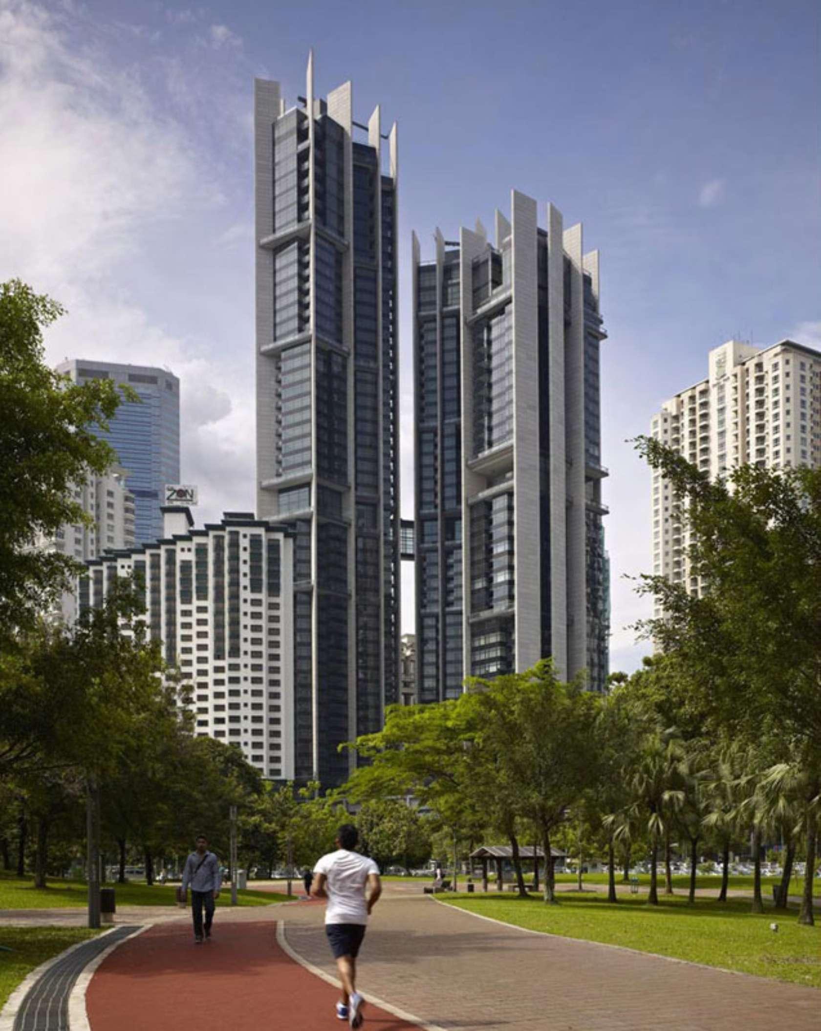 The troika architizer for Apartment design malaysia