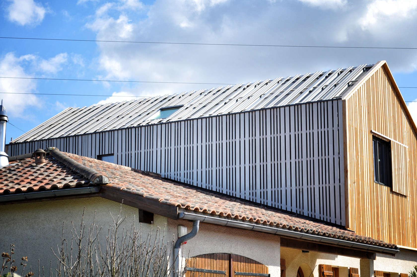 La maison sur le toit architizer - Maison sur toit ...