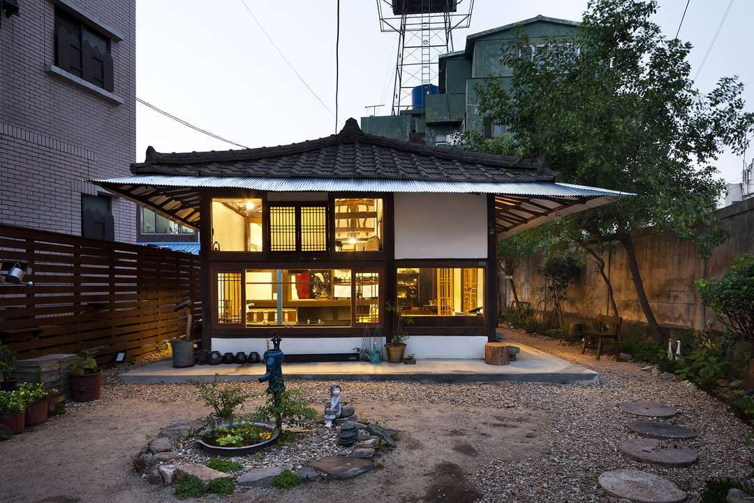 Image gallery modern korean architecture for Modern house korea