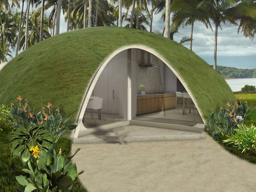 Inflatable Concrete Can We Solve The Worlds Housing Woes With These Inflatable