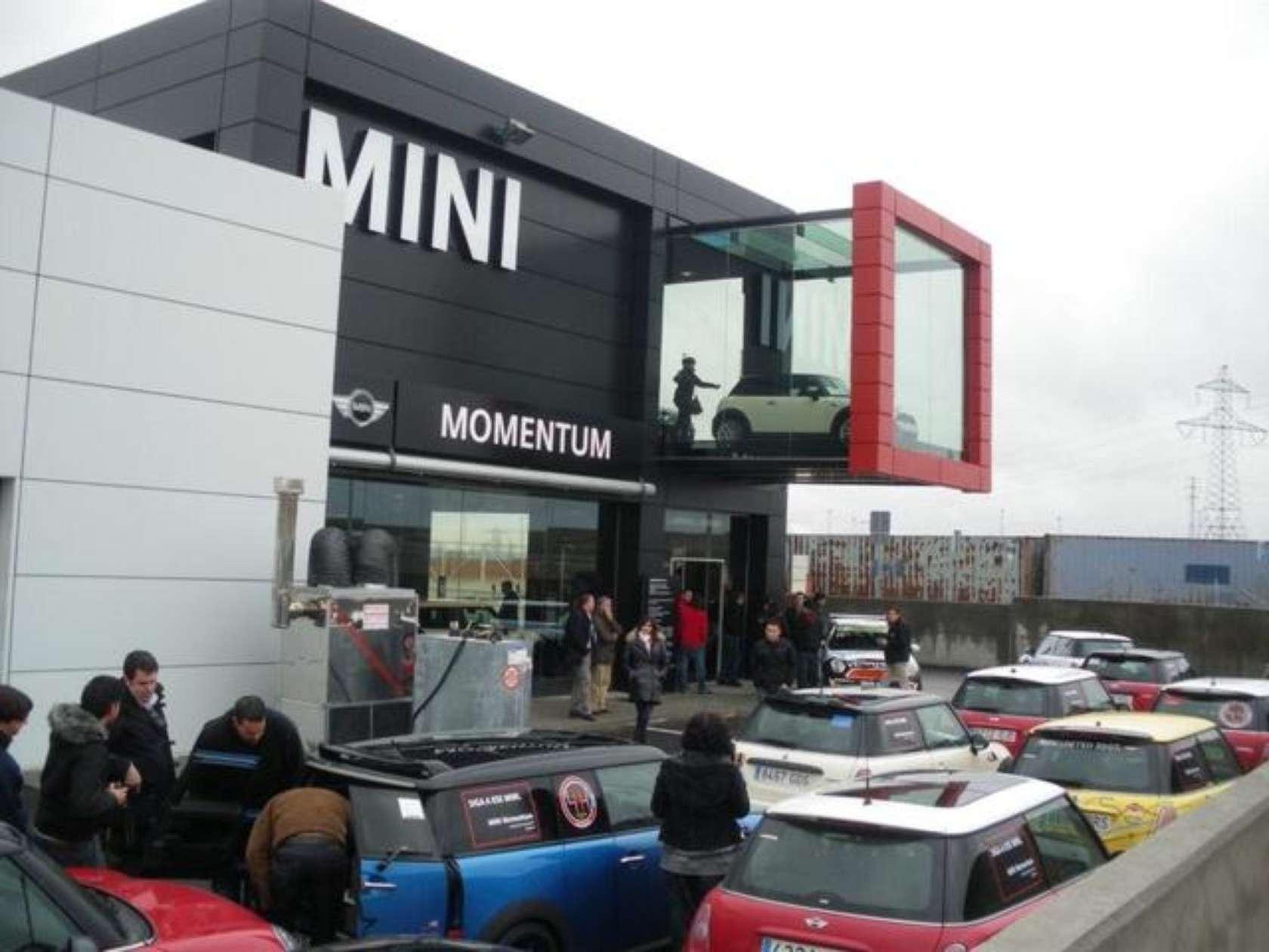 container store garage ideas - Momemtum BMW Mini Showroom Leganés Architizer