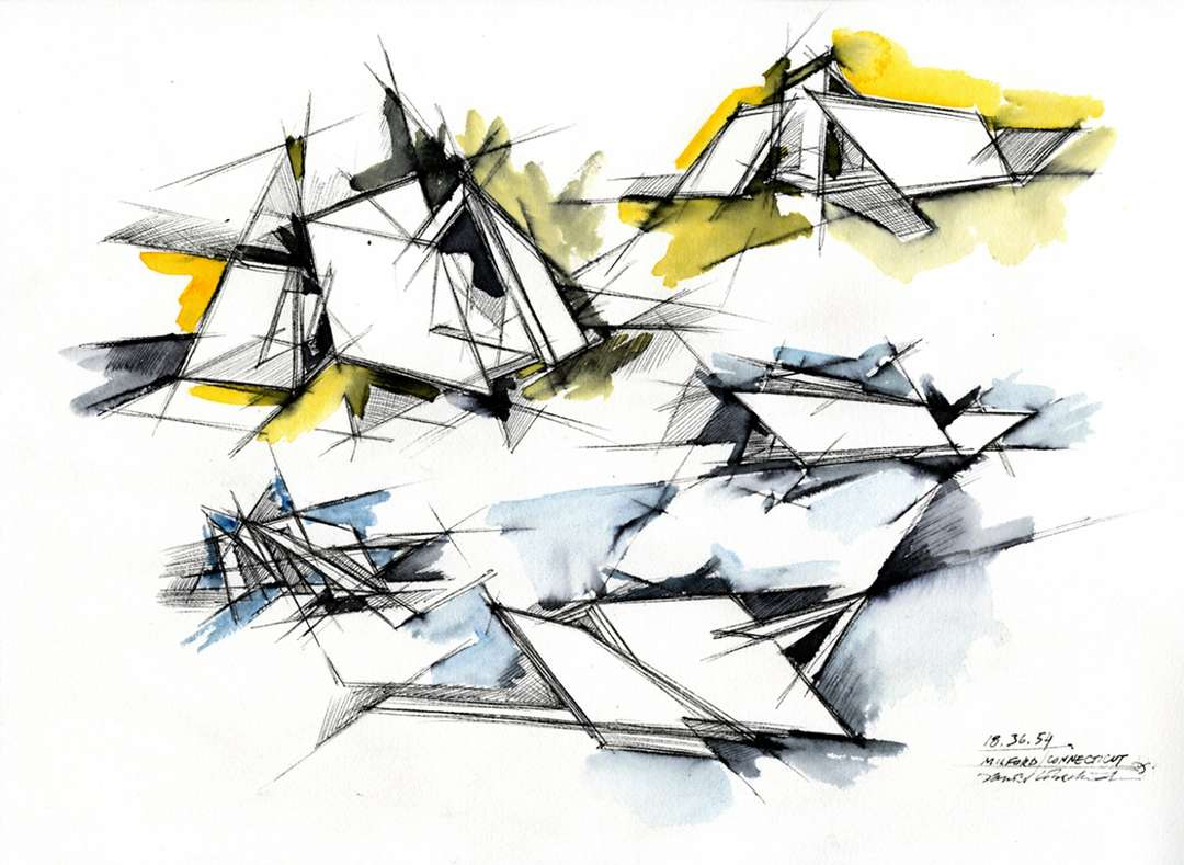 How Architecture Is Born 7 Poetic Sketches By Daniel Libeskind And The Buildings They Helped To Shape